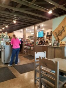 interior Hocking Hills Coffee Emporium